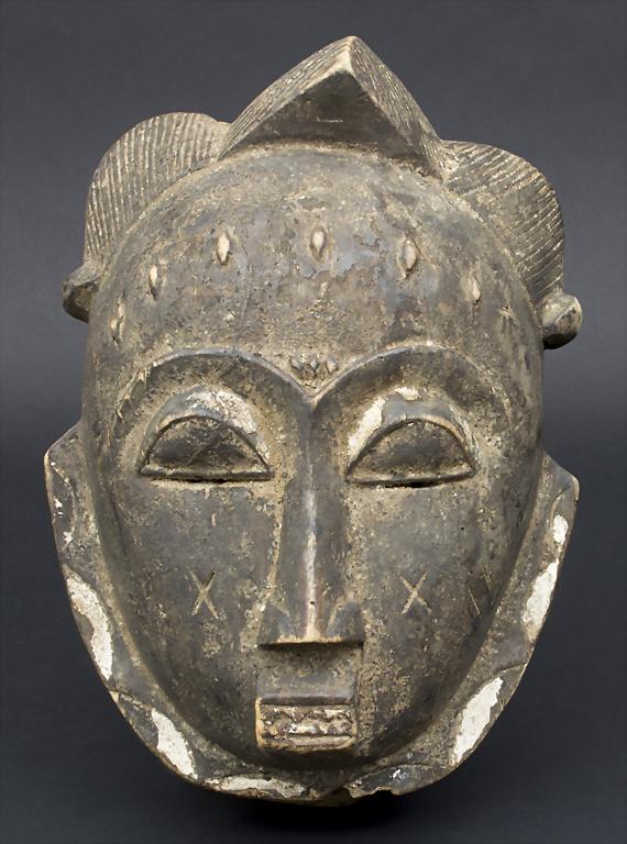 Hausmaske / A house mask, Baule, Elfenbeinküste / Ivory Coast
